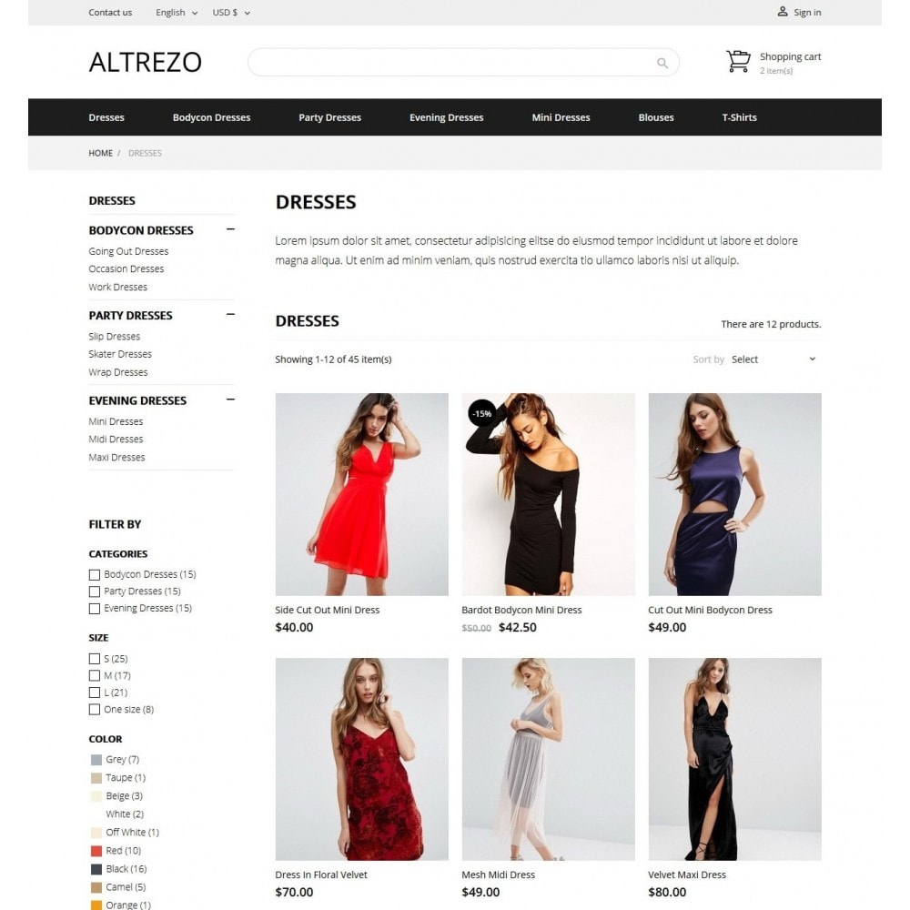 theme - Mode & Chaussures - Altrezo Fashion Store - 4