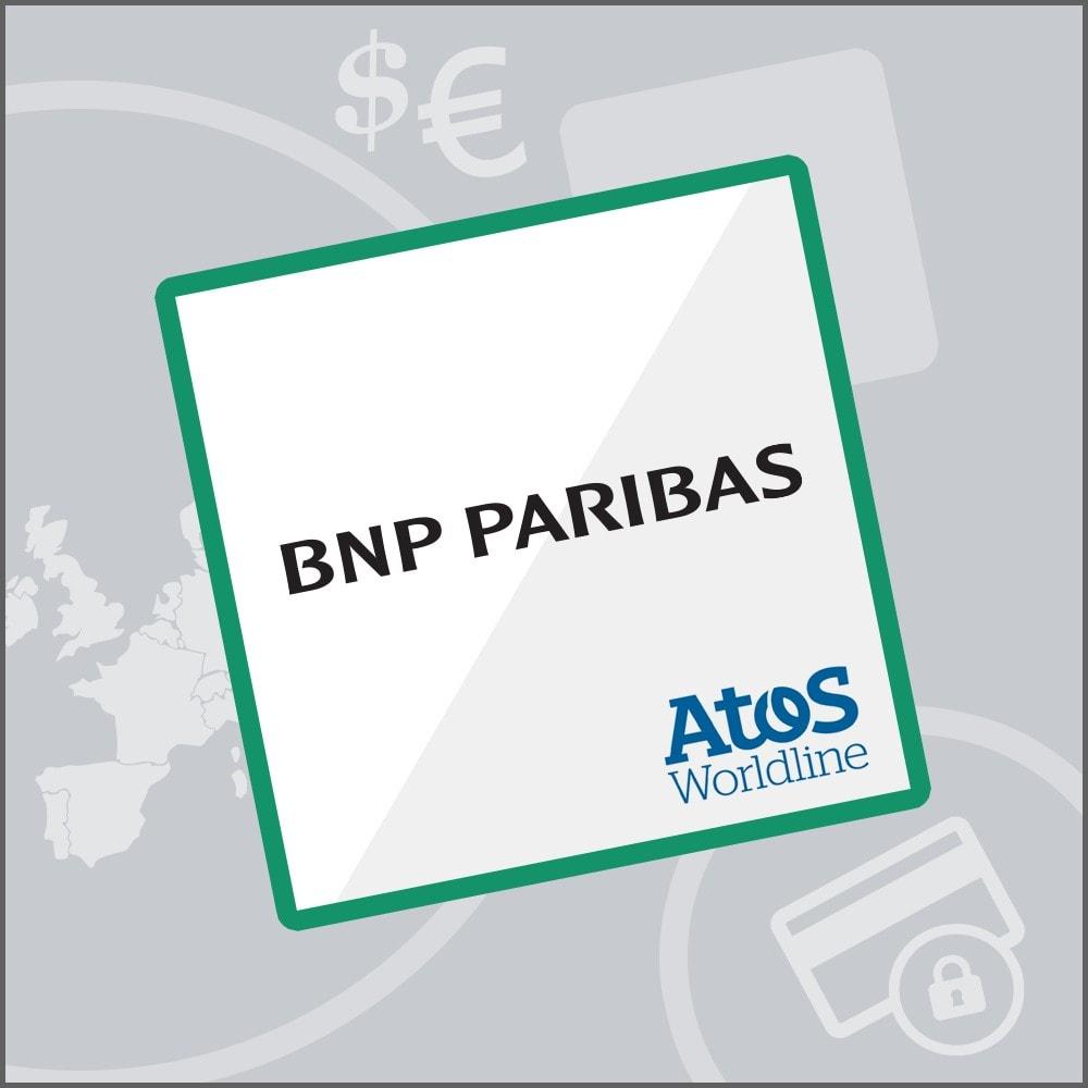 module - Pago con Tarjeta o Carteras digitales - Mercanet 1.0 - BNP Paribas Atos Sips Worldline - 1