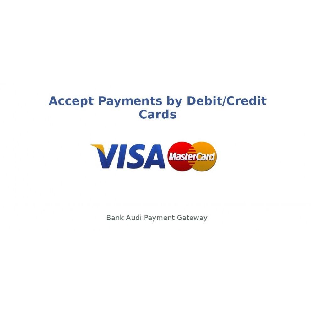 module - Pagamento por cartão ou por carteira - Bank Audi Payment Gateway - 1