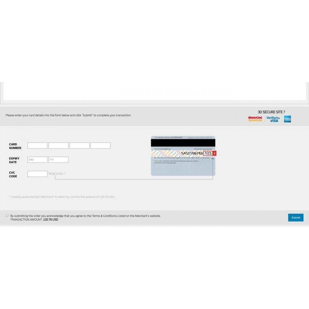 module - Pagamento por cartão ou por carteira - Bank Audi Payment Gateway - 5