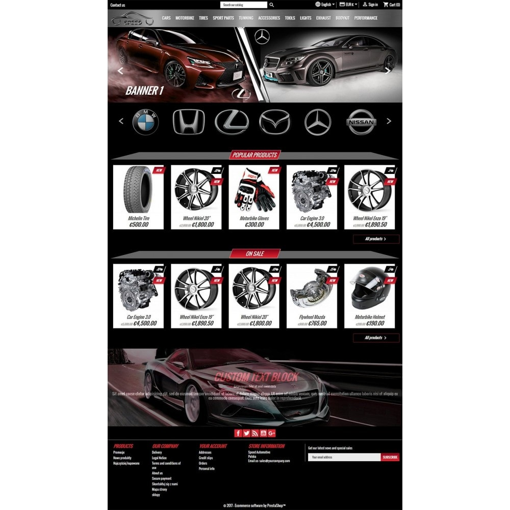 theme - Coches y Motos - Speed - Automotive Store - 2