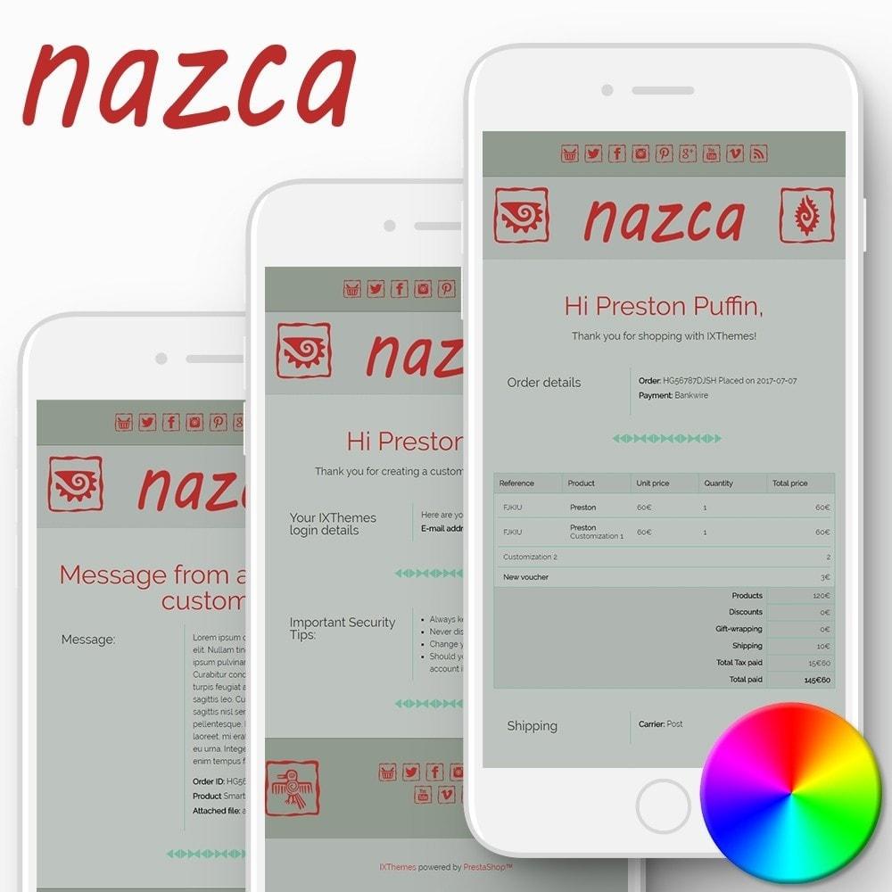 email - Modelos de e-mails da PrestaShop - Nazca - Email templates - 1