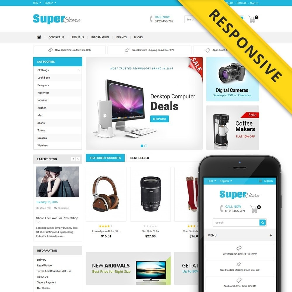 theme - Elettronica & High Tech - Super Store - 1