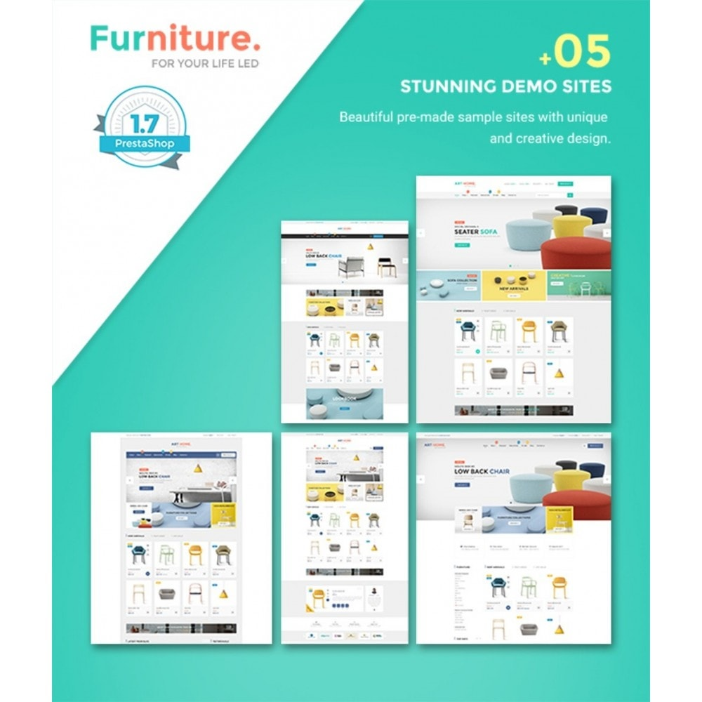 theme - Kultura & Sztuka - Pts Furniture - 1