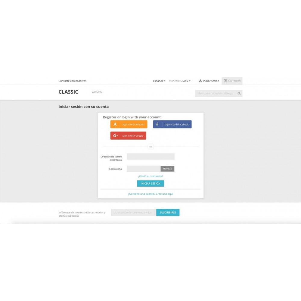 module - Social Login & Connect - Social Login Authentication - 1