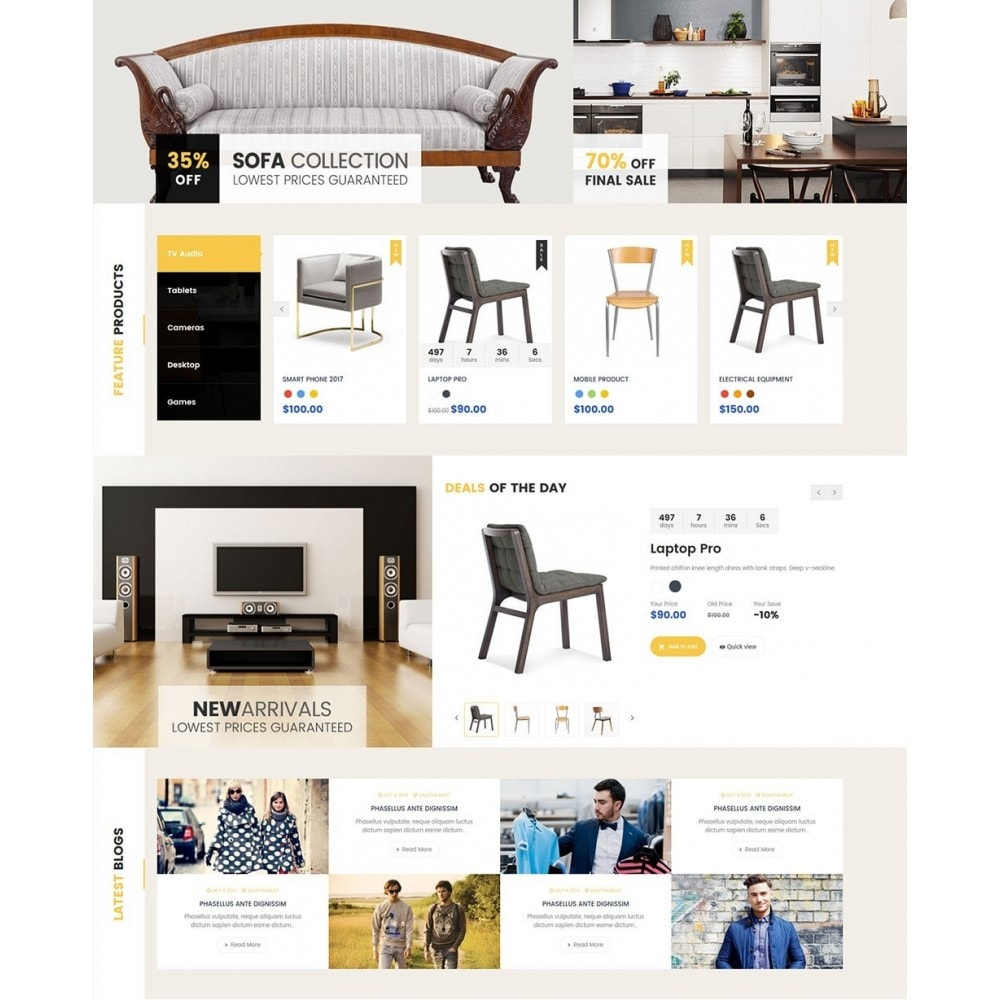 theme - Heim & Garten - Furniture Shop - 3