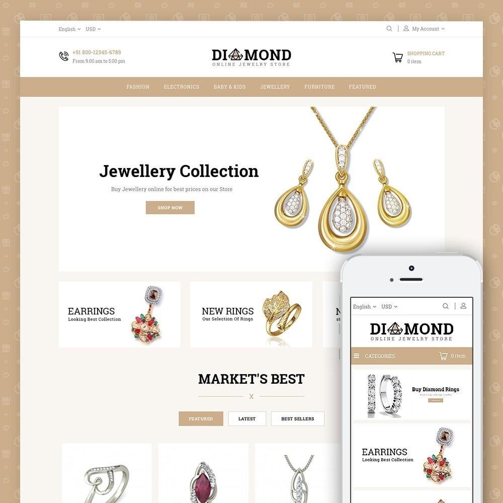 theme - Joyas y Accesorios - Diamond Jewelry Store - 1