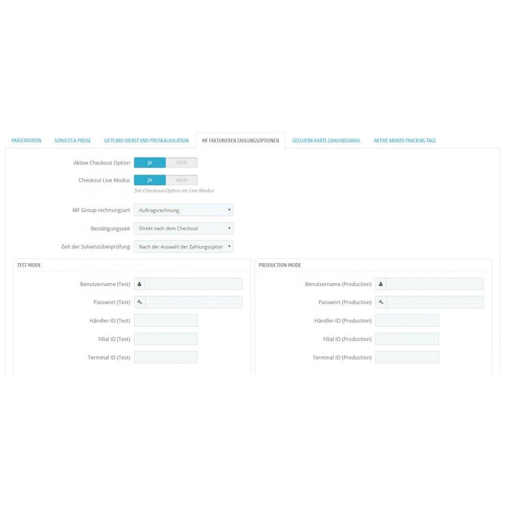 module - Zahlung auf Rechnung - Kauf auf Rechnung mit Teilzahlungsoption - 2