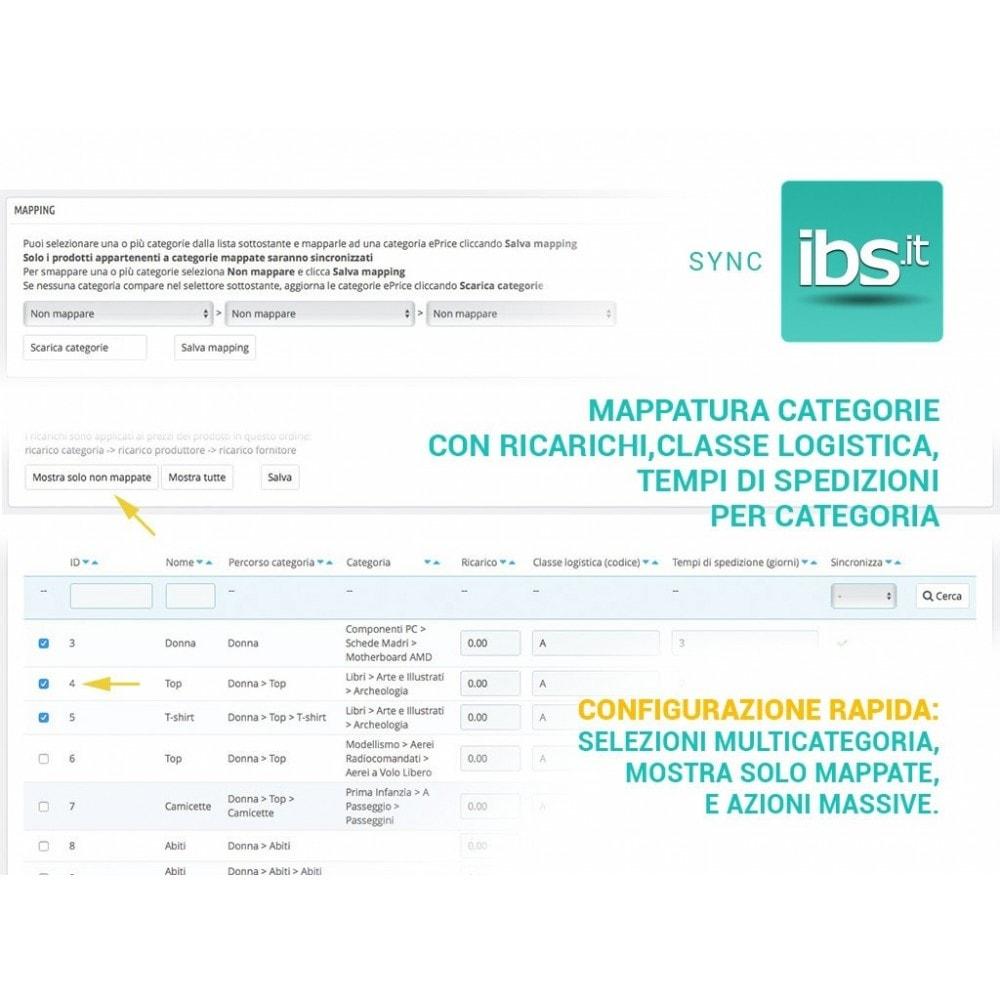 module - Marketplace - Sincronizza con il marketplace IBS.it - 2