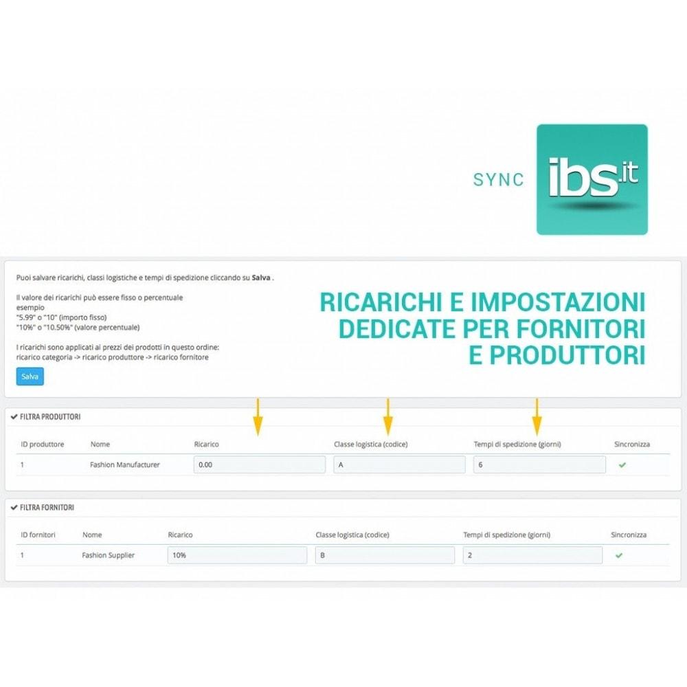 module - Marketplace - Sincronizza con il marketplace IBS.it - 4