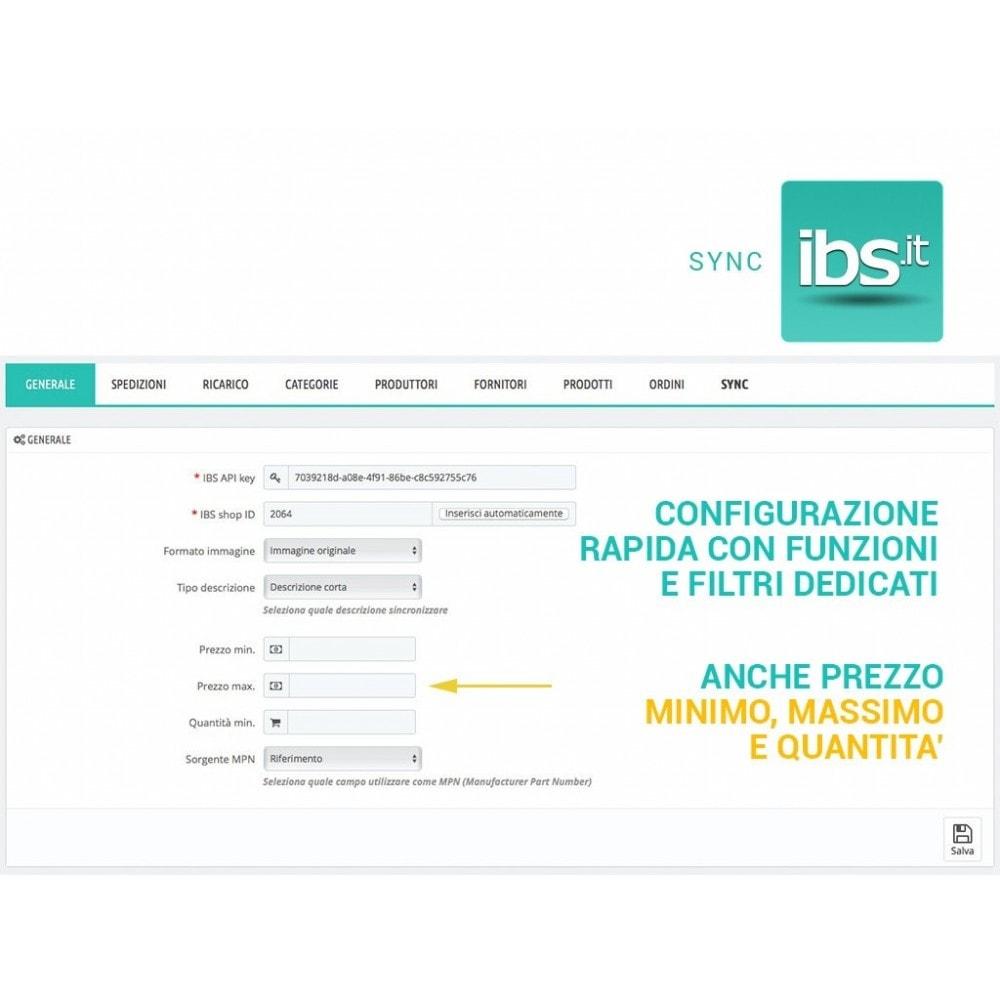 module - Marketplace - Sincronizza con il marketplace IBS.it - 5