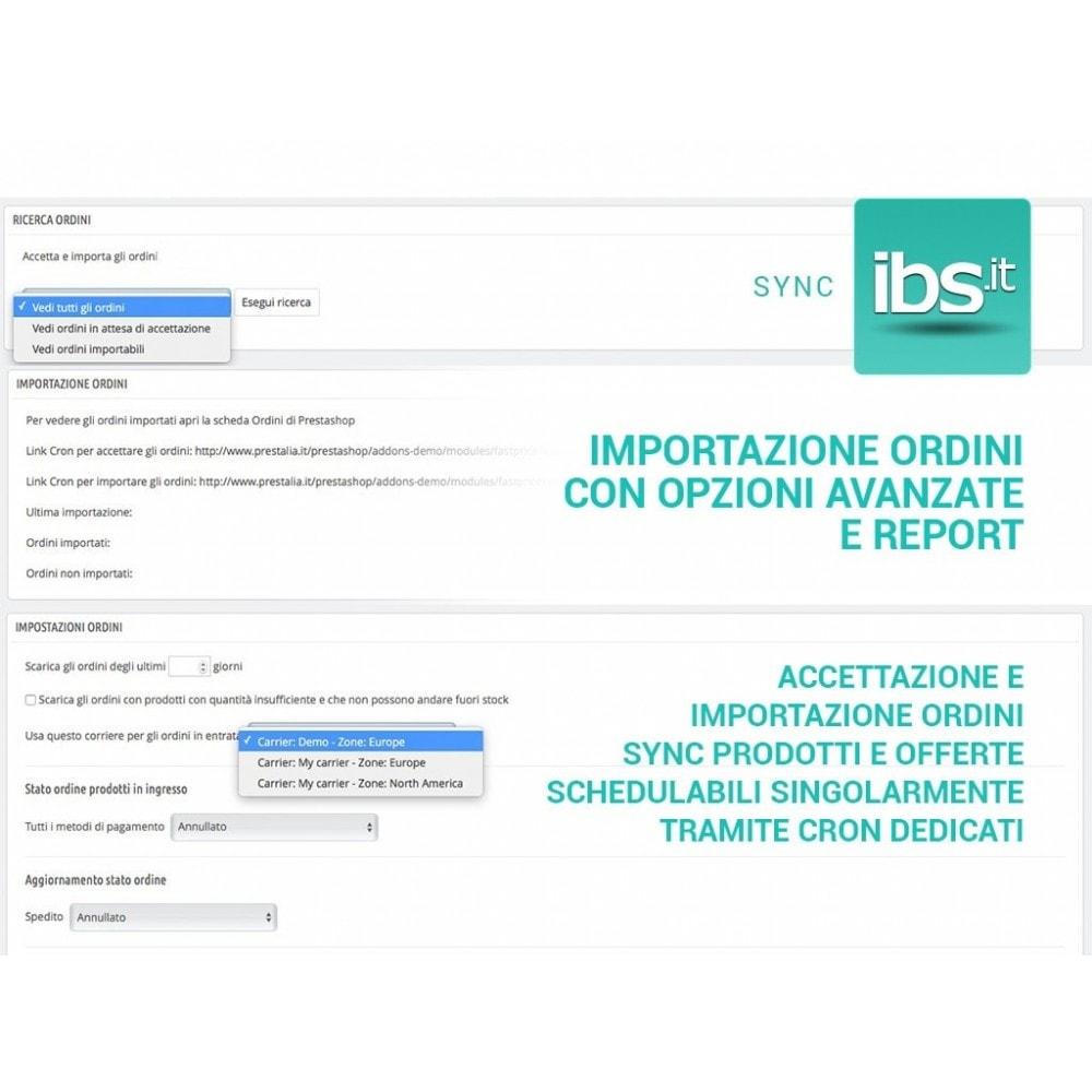 module - Marketplace - Sincronizza con il marketplace IBS.it - 6