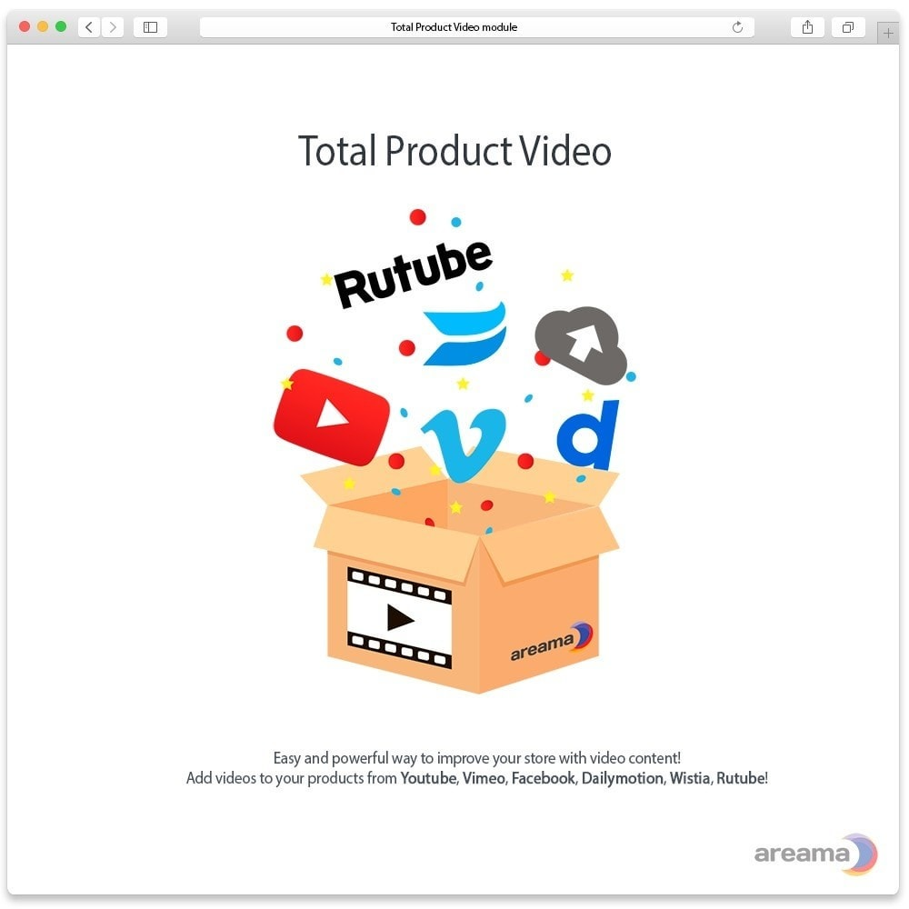 module - Video's & Muziek - Total Product Video - 1