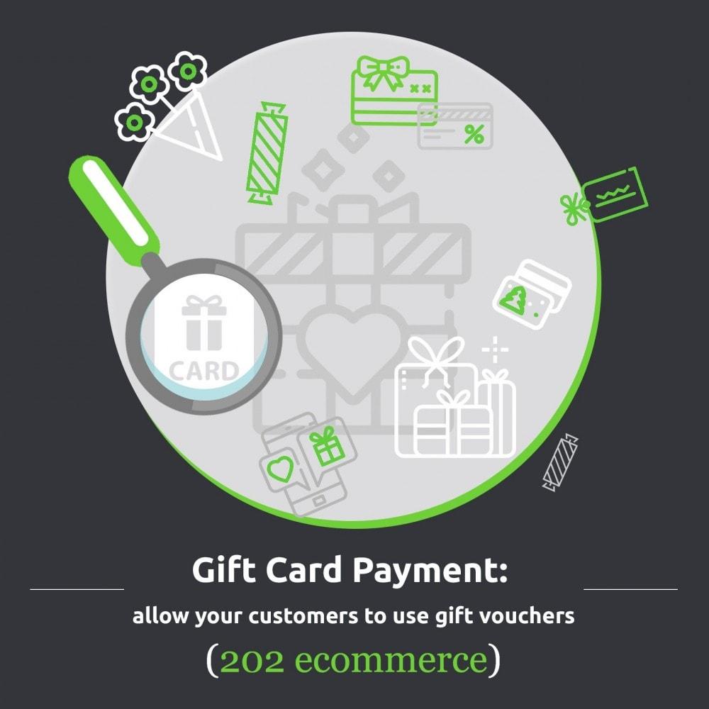 module - Płatność kartą lub Płatność Wallet - Gift card Payment - 1