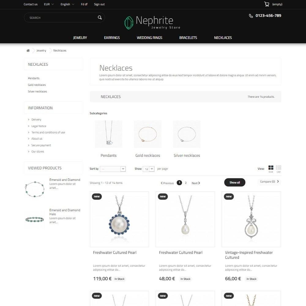 theme - Ювелирные изделия и Аксессуары - Nephrite - Jewelry Store - 11
