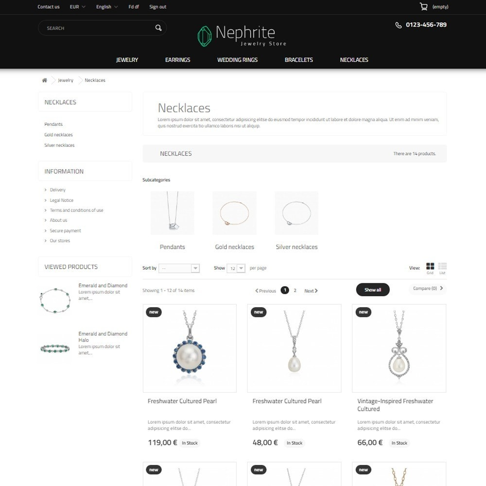 theme - Sieraden & Accessoires - Nephrite - Jewelry Store - 4