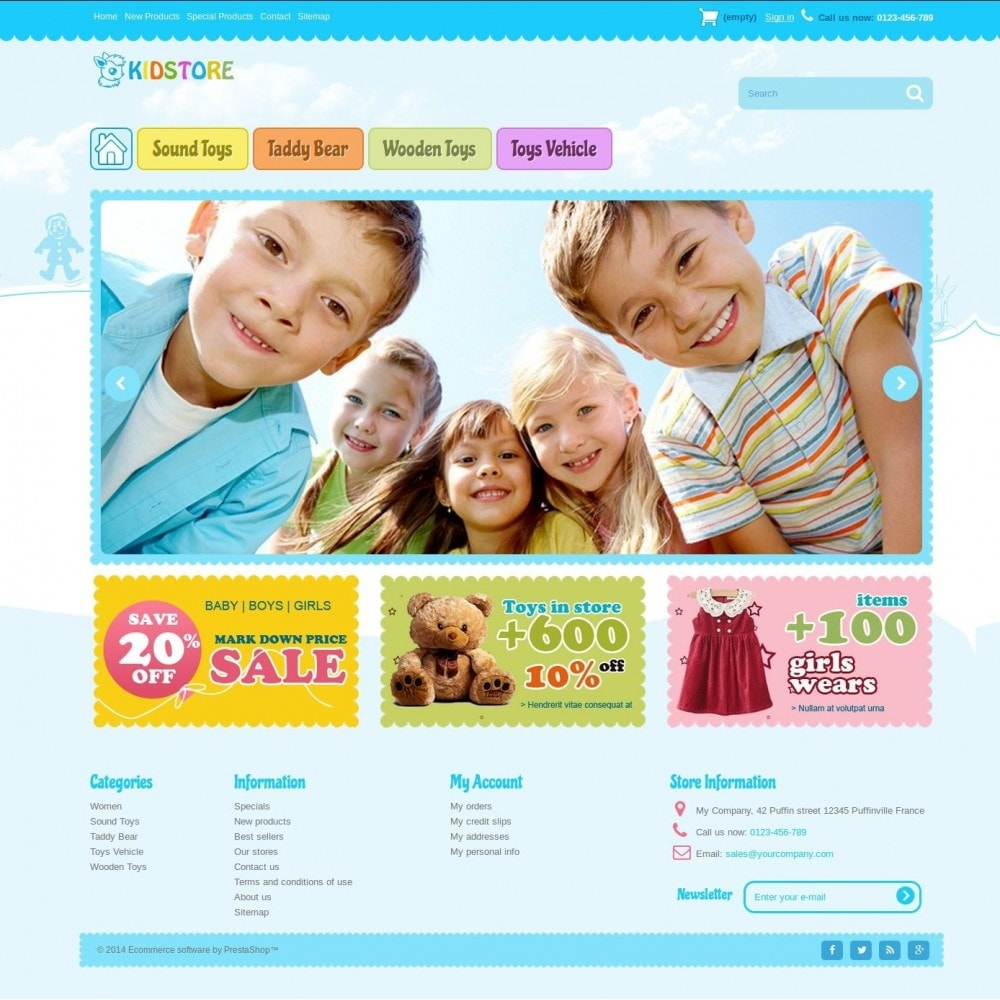 theme - Crianças & Brinquedos - kidstore3.2 - 1