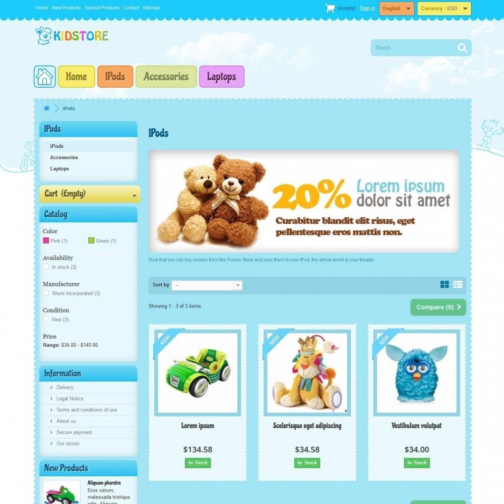 theme - Zabawki & Artykuły dziecięce - kidstore3.2 - 2