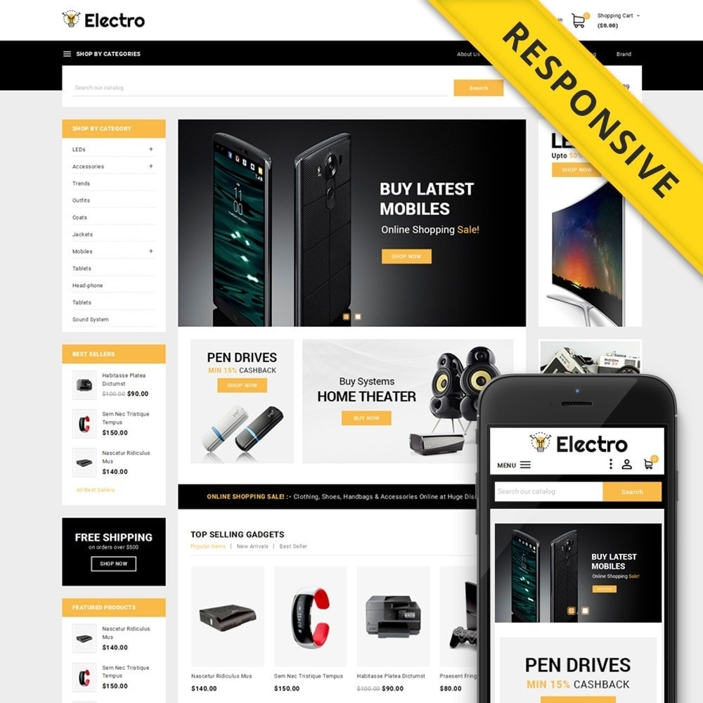 theme - Elektronica & High Tech - Electro - Best Online Store - 1