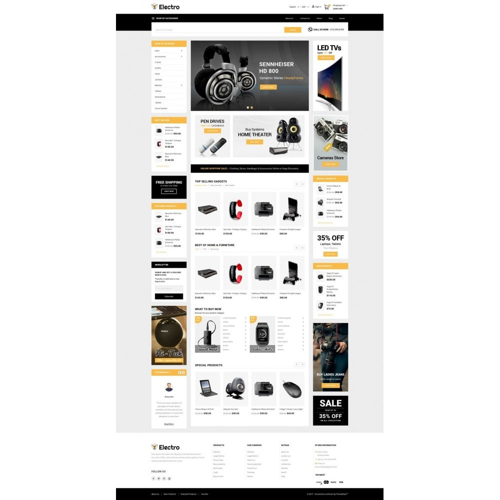 theme - Elektronica & High Tech - Electro - Best Online Store - 2