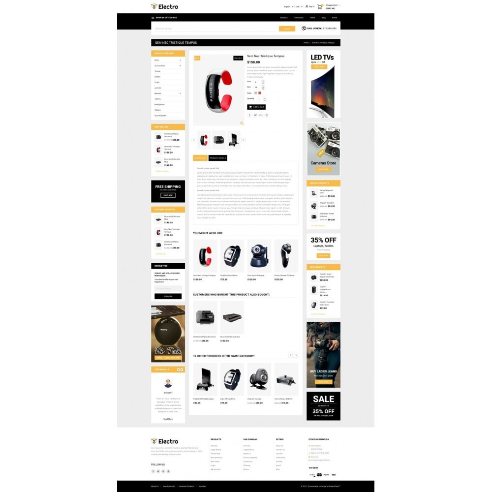 theme - Elektronica & High Tech - Electro - Best Online Store - 5