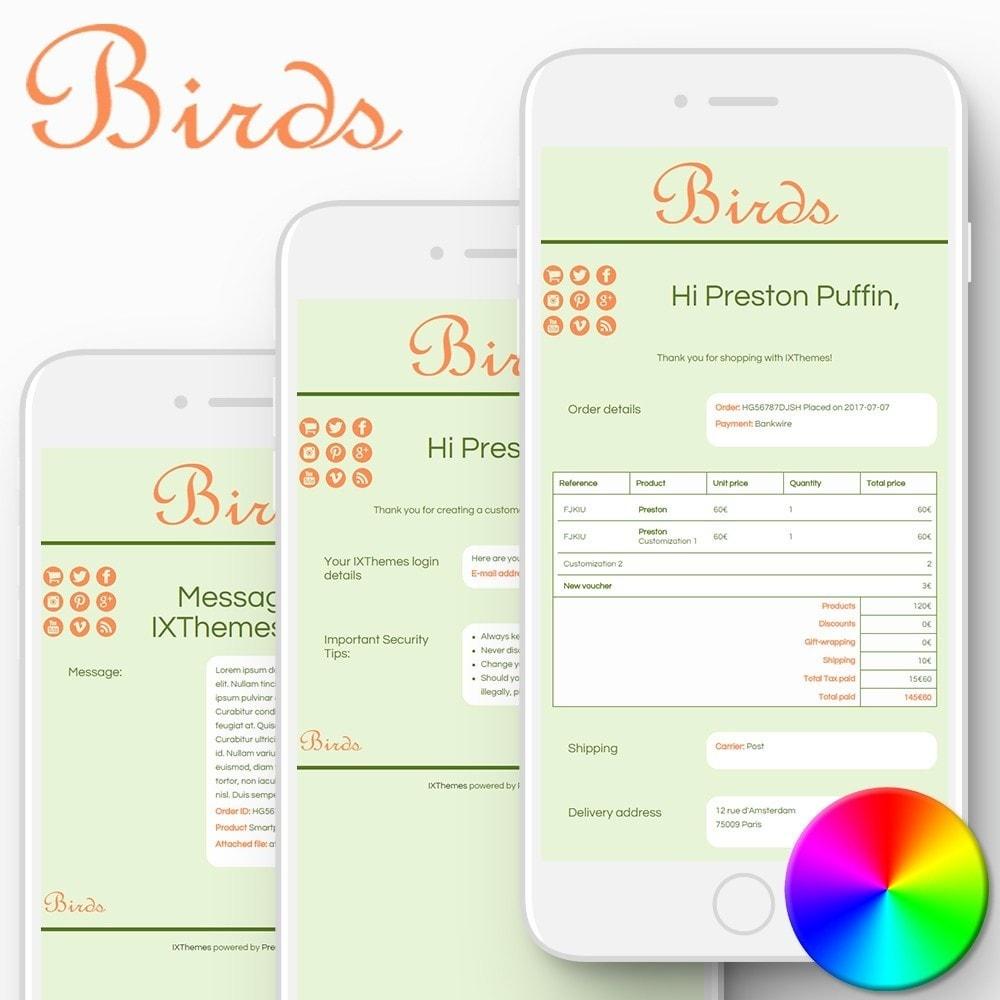 email - Template di e-mail PrestaShop - Birds - Email templates - 1