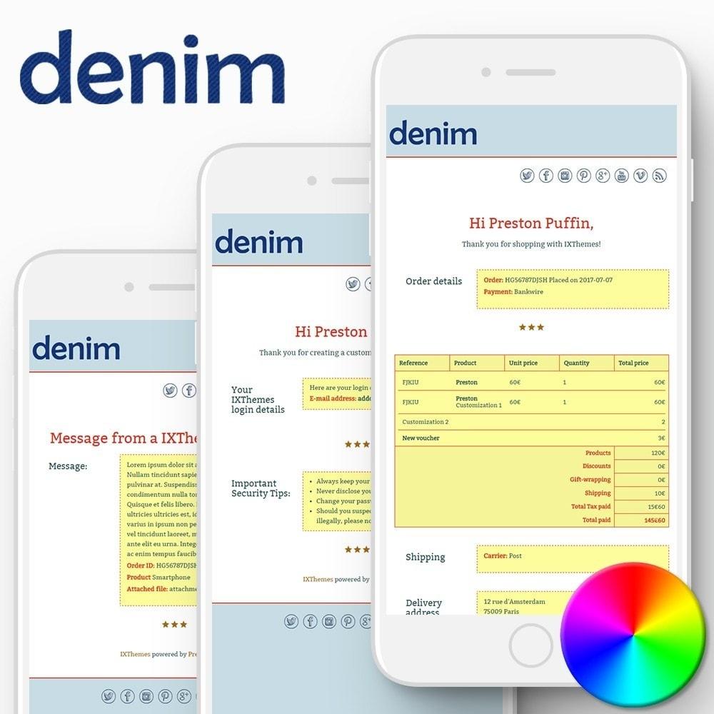 email - PrestaShop email templates - Denim - Email templates - 1