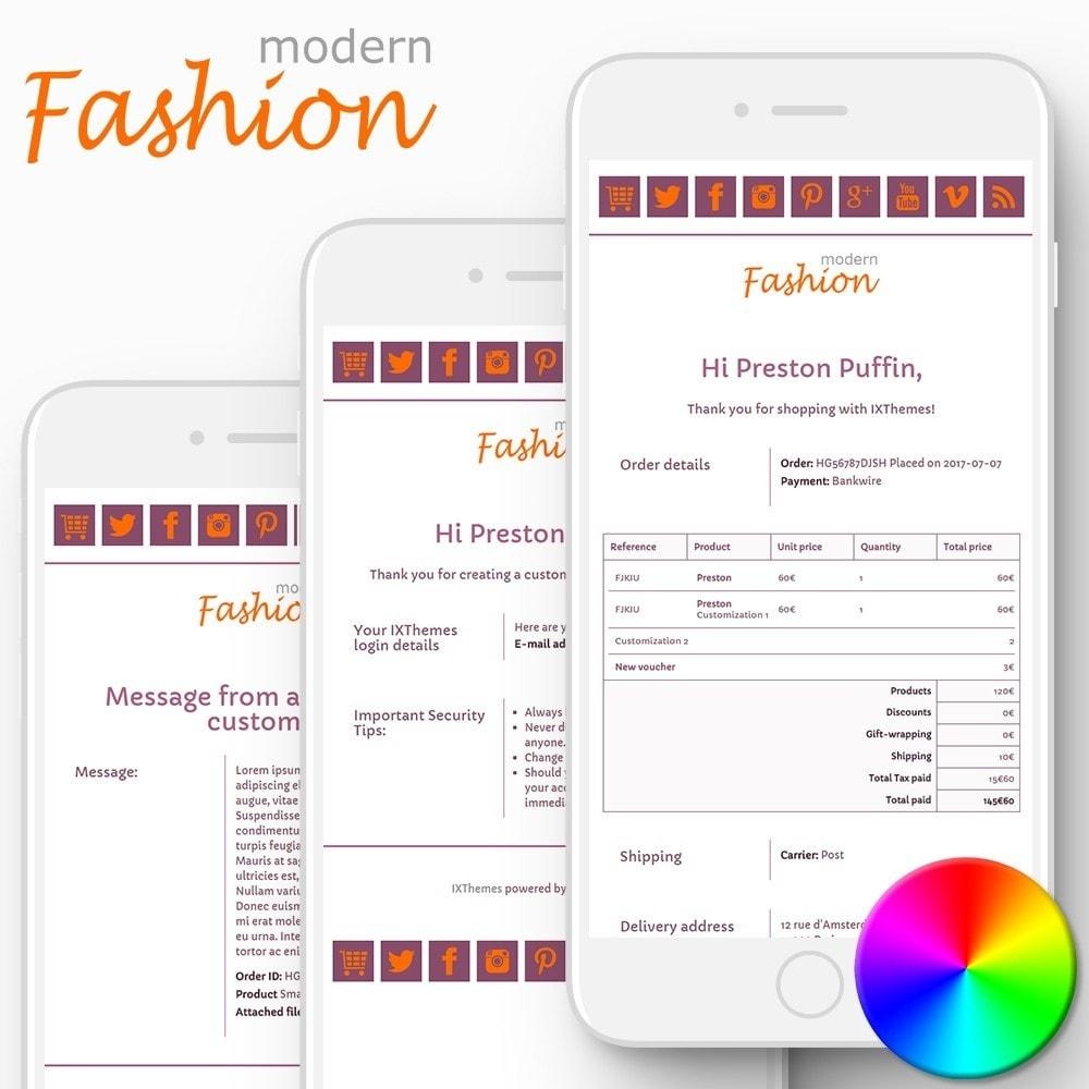 email - E-mailtemplates van PrestaShop - Modern Fashion - Email templates - 1