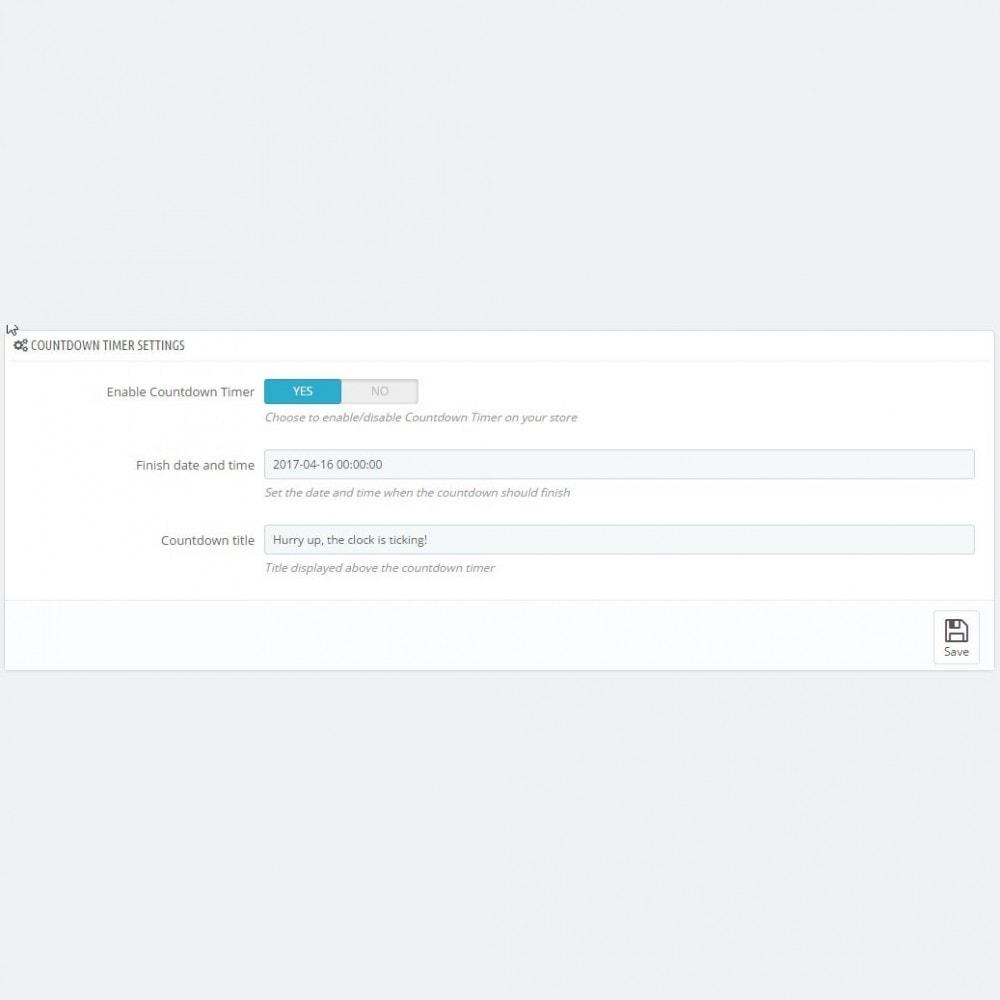 module - Personnalisation de Page - Easter Mode - Theme customizer - 4