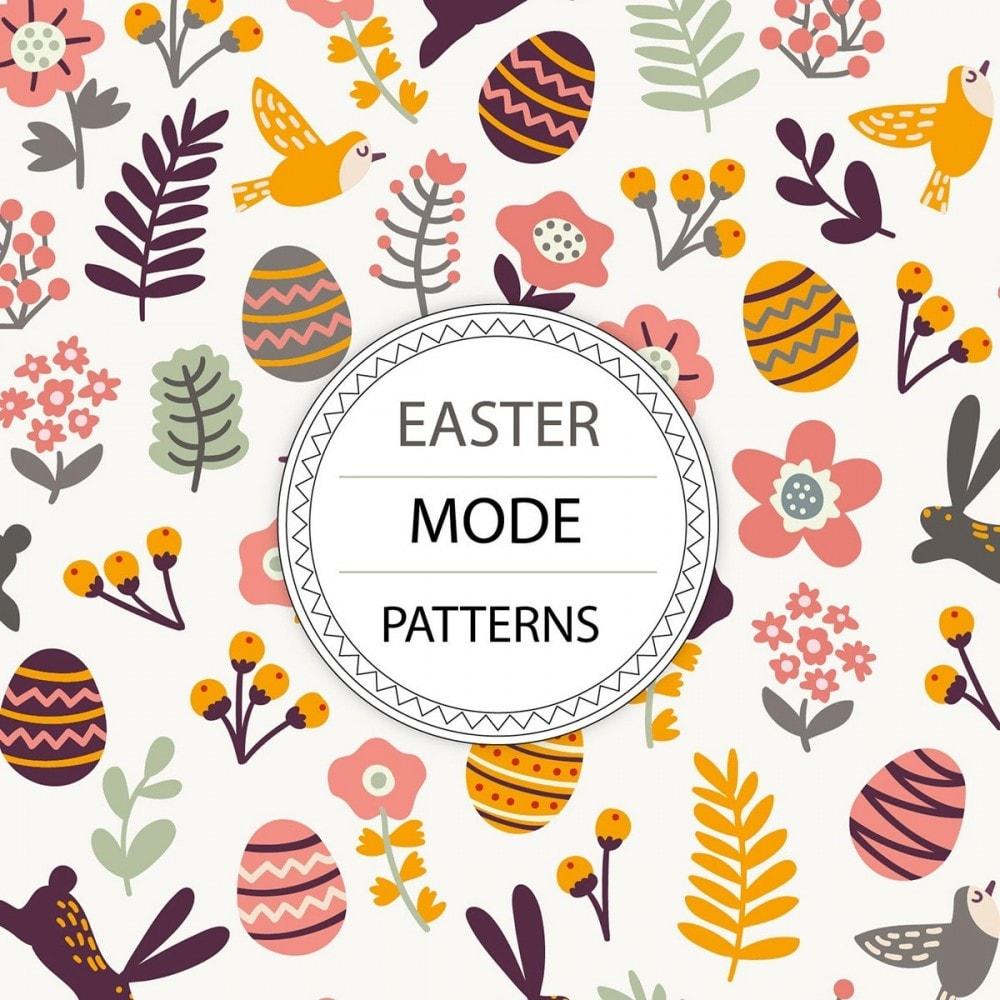 module - Personnalisation de Page - Easter Mode - Theme customizer - 5
