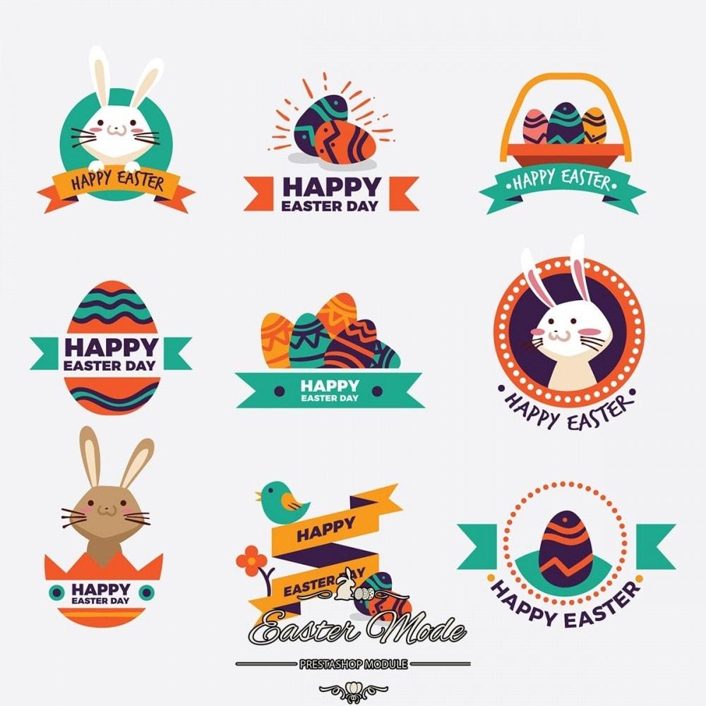 module - Personnalisation de Page - Easter Mode - Theme customizer - 12