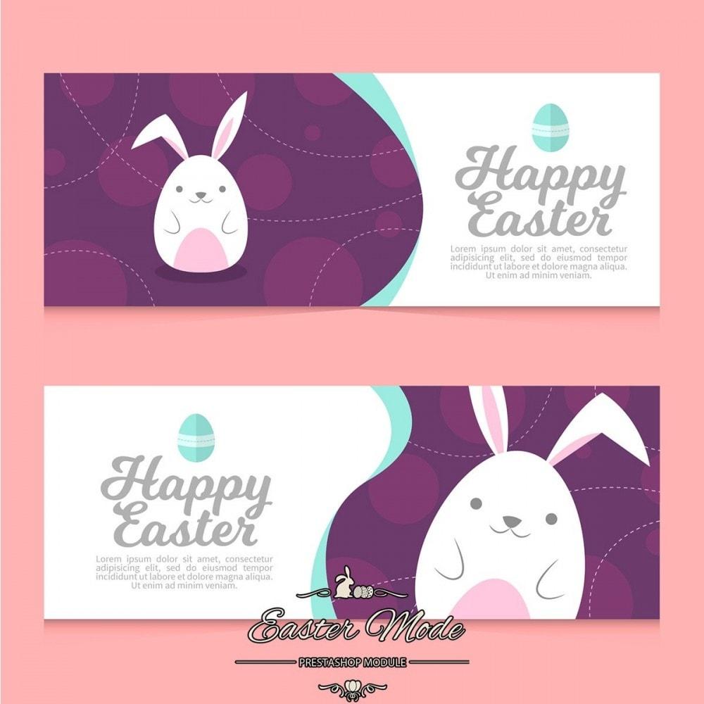 module - Personnalisation de Page - Easter Mode - Theme customizer - 16