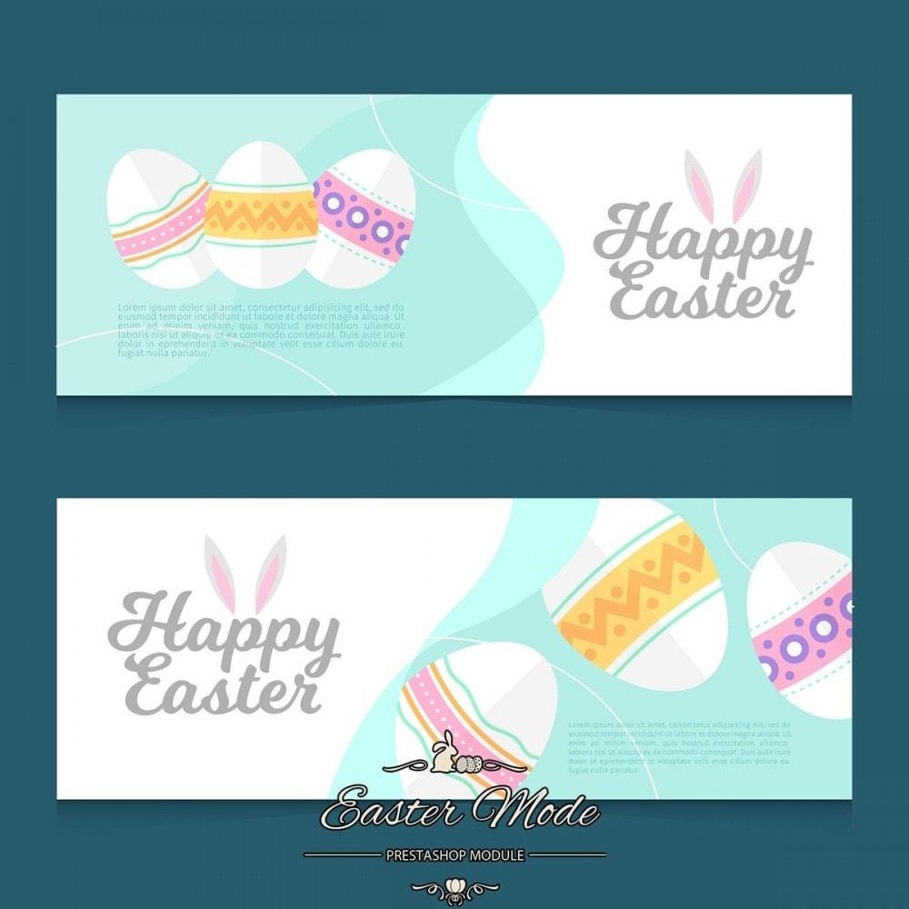 module - Personnalisation de Page - Easter Mode - Theme customizer - 17