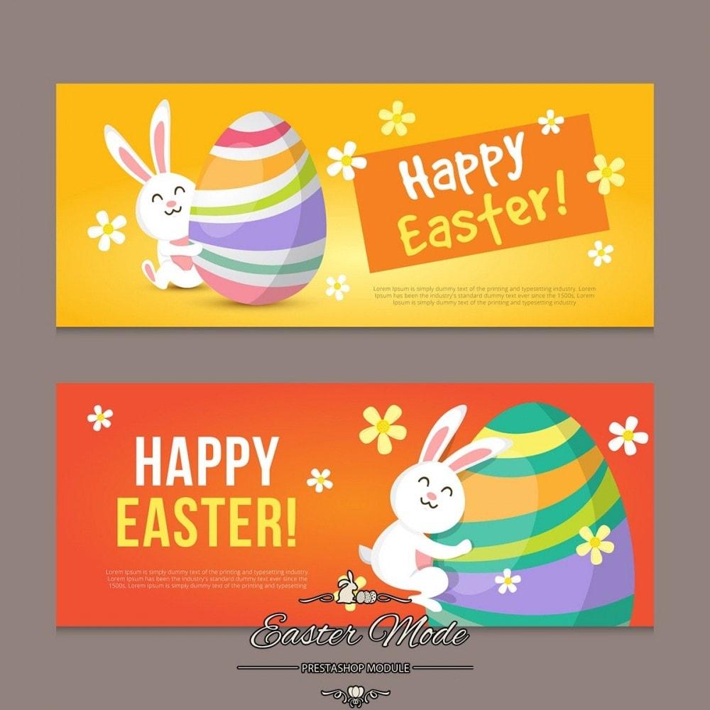 module - Personnalisation de Page - Easter Mode - Theme customizer - 25