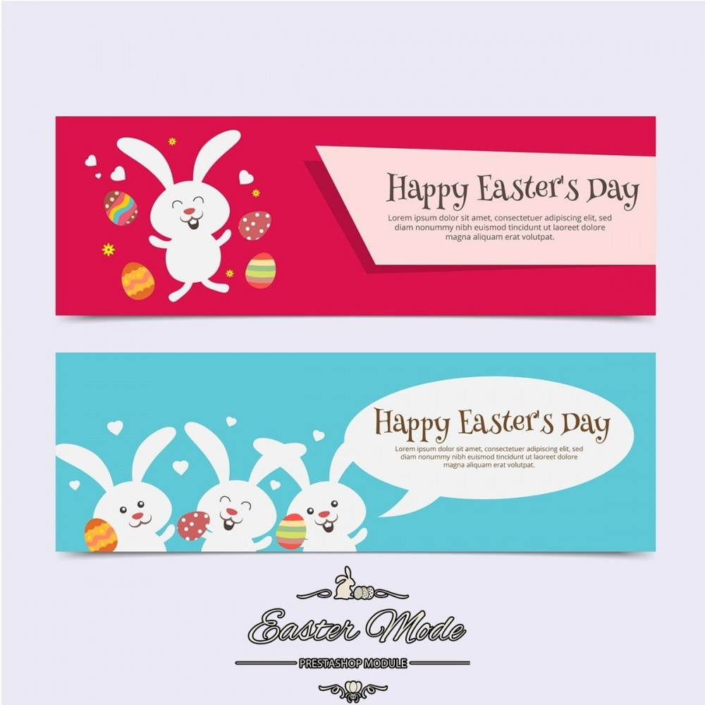 module - Personnalisation de Page - Easter Mode - Theme customizer - 26