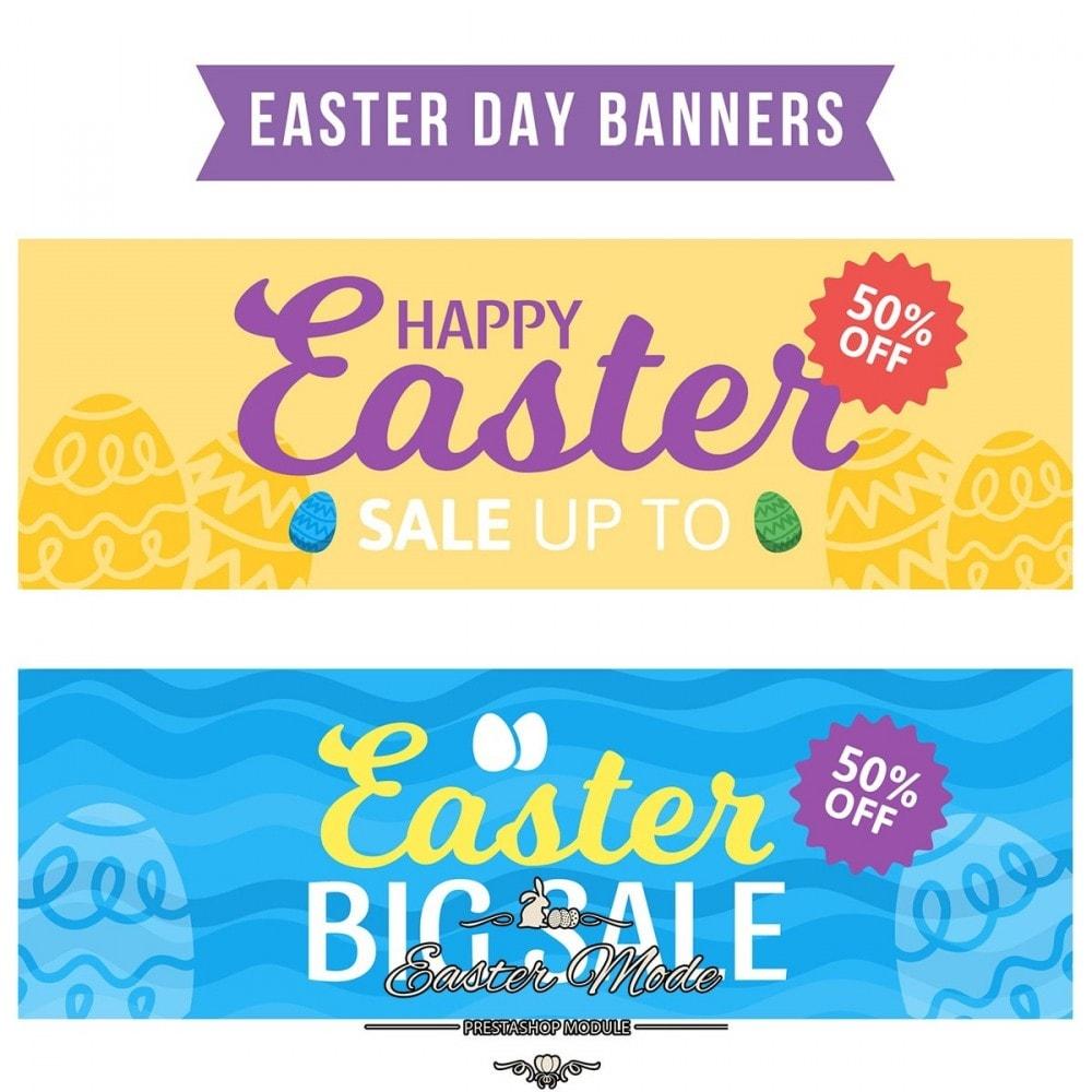 module - Personnalisation de Page - Easter Mode - Theme customizer - 27
