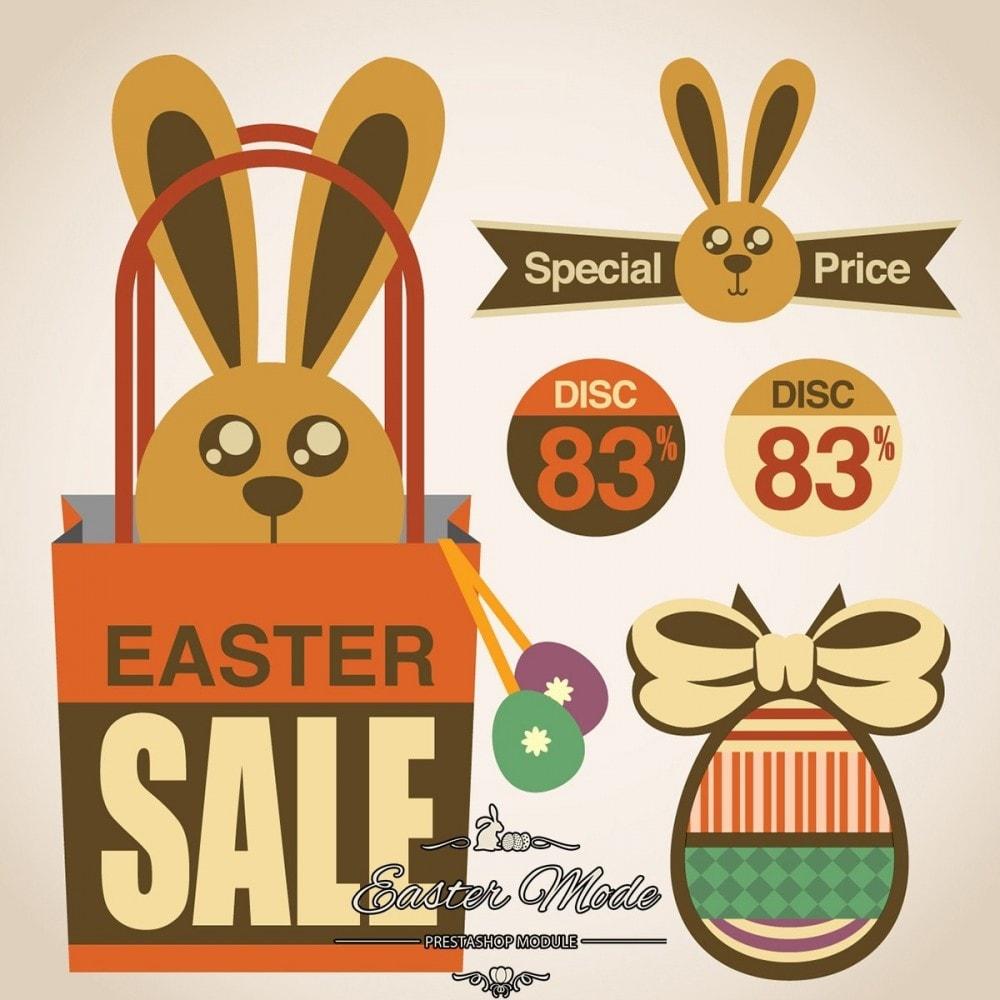 module - Personnalisation de Page - Easter Mode - Theme customizer - 28