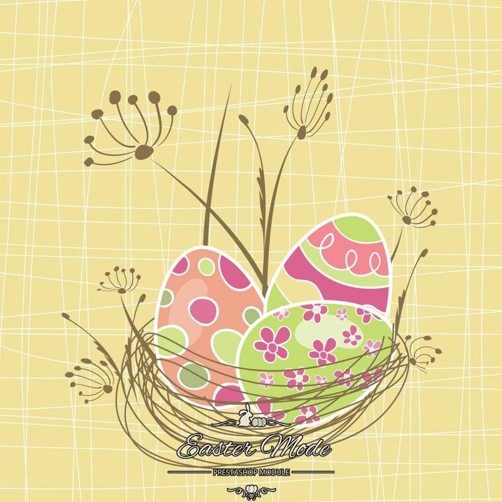 module - Personnalisation de Page - Easter Mode - Theme customizer - 29