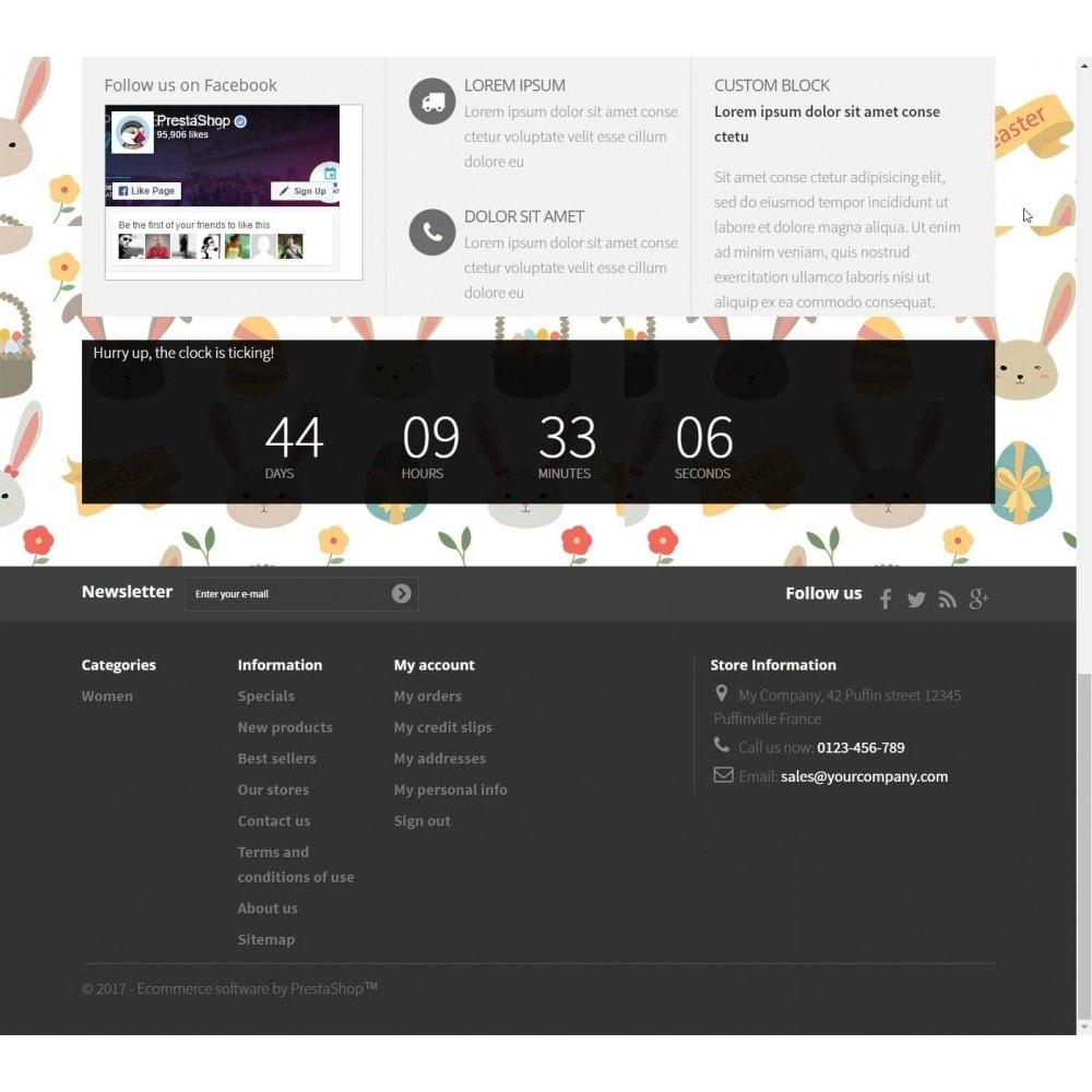 module - Personnalisation de Page - Easter Mode - Theme customizer - 35
