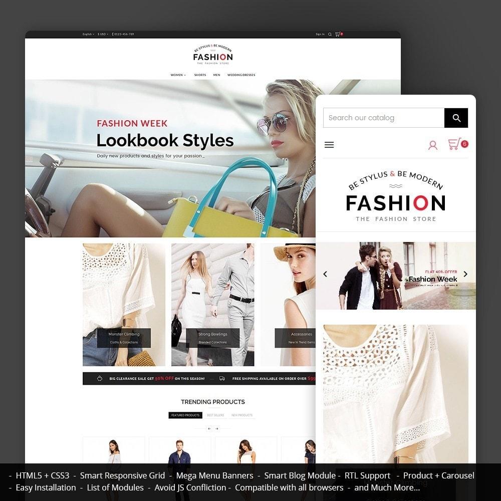 theme - Мода и обувь - Fashion Store - 1