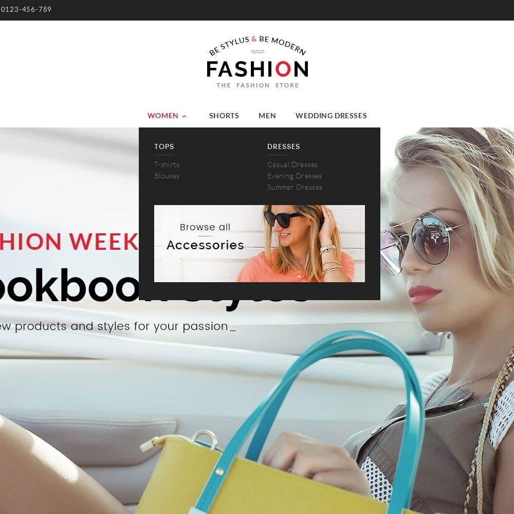 theme - Мода и обувь - Fashion Store - 8