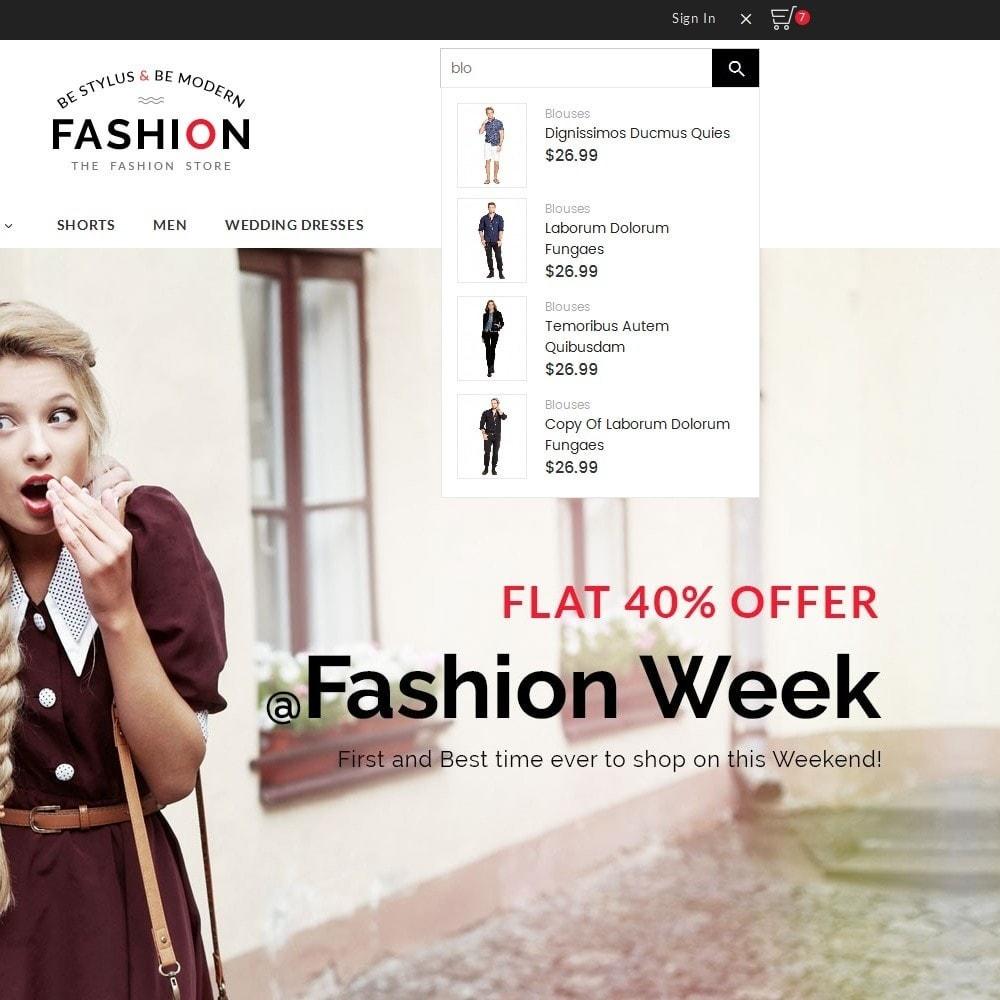 theme - Мода и обувь - Fashion Store - 9
