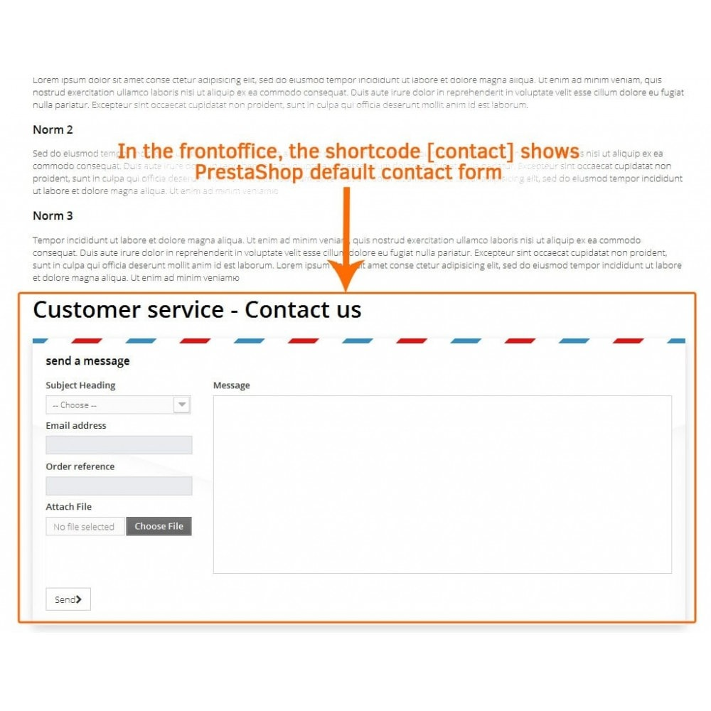 module - Contactformulier & Enquêtes - Contact form in CMS pages - 3