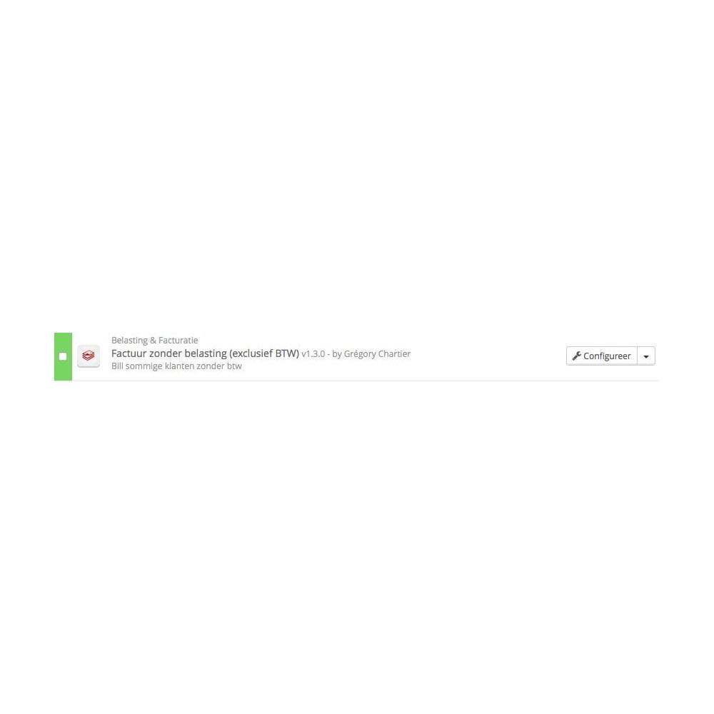 module - Boekhouding en fakturatie - Factuur zonder belasting (exclusief BTW) - 4