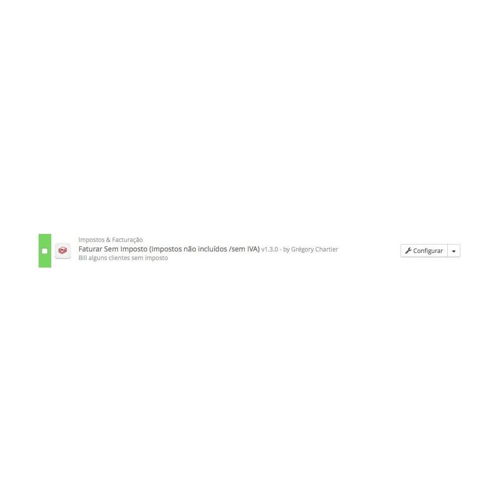 module - Contabilidade & Cobrança - Faturar Sem Impostos (Impostos não incluídos /sem IVA) - 3