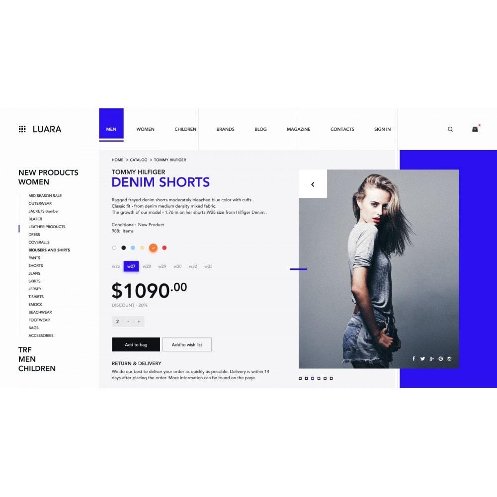 theme - Fashion & Shoes - Laura - Clothing Store - 4