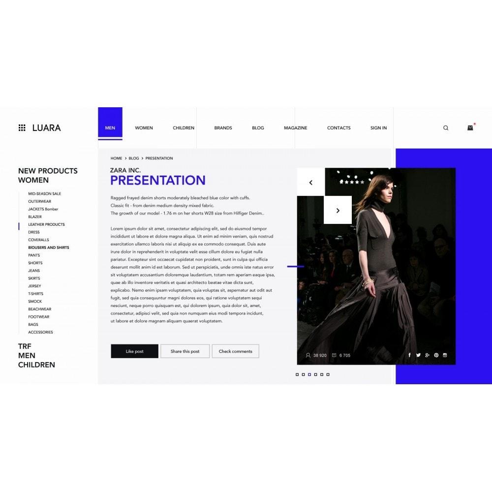 theme - Fashion & Shoes - Laura - Clothing Store - 6