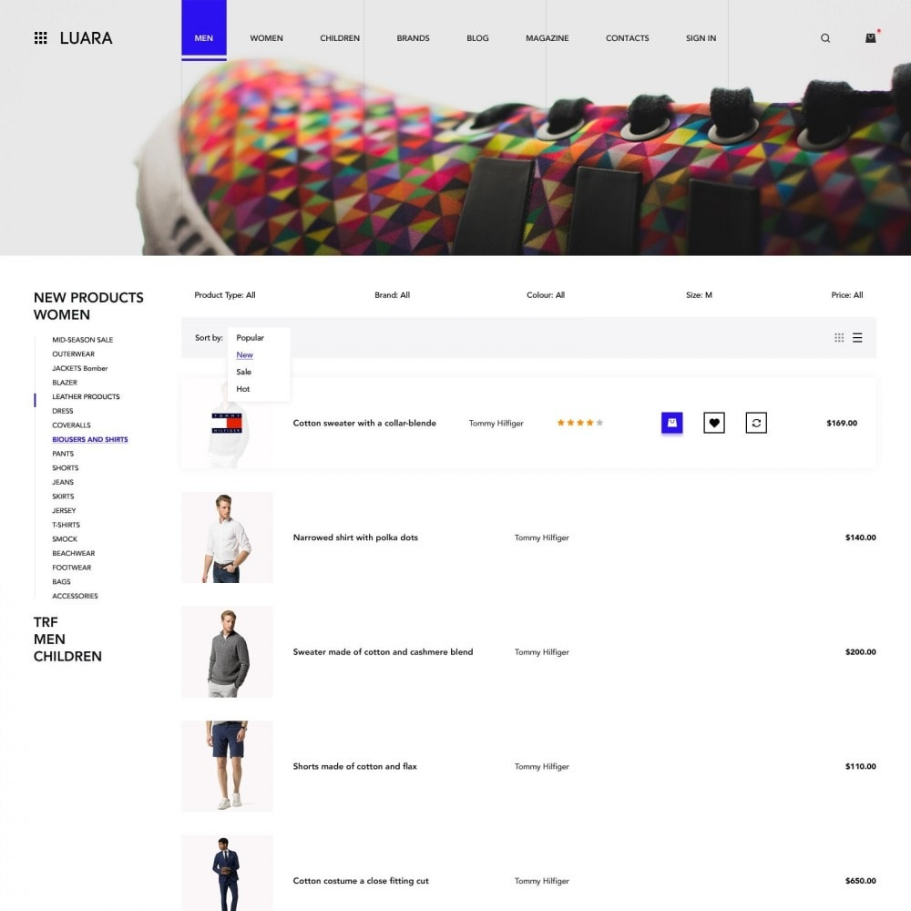 theme - Mode & Chaussures - Laura -Mmagasin de Vêtements - 4