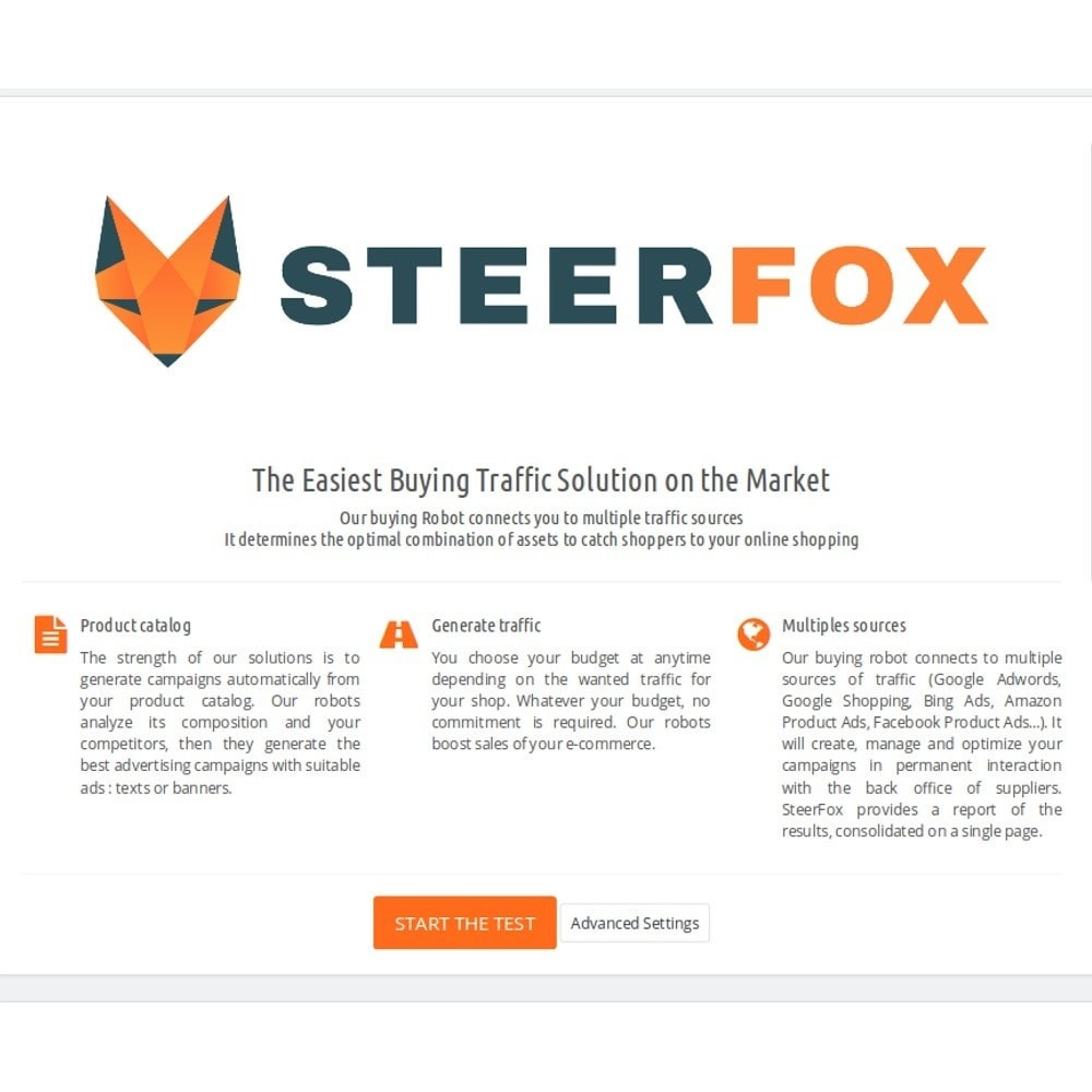 module - SEA SEM (paid advertising) & Affiliation Platforms - SteerFox - Intelligent Advertising Automation - 3