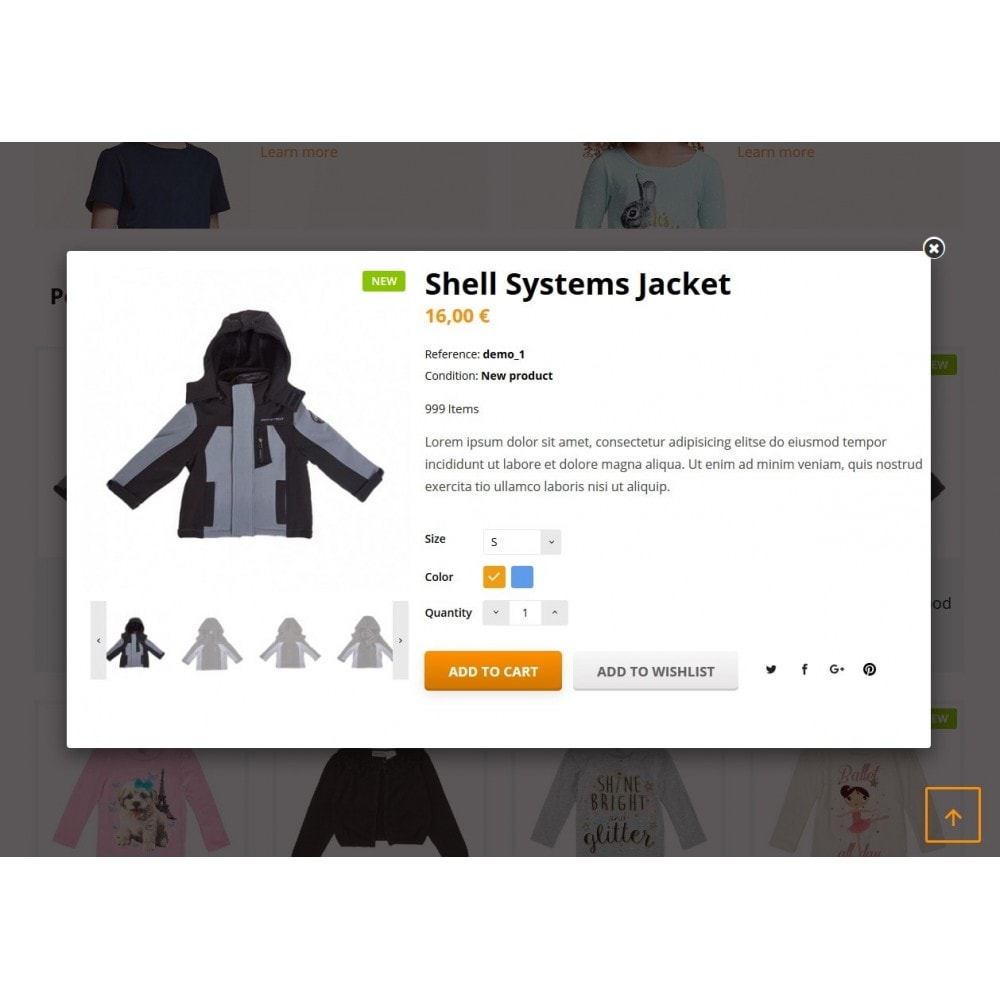 theme - Дети и Игрушки - Quantify - Kids Clothes - 5